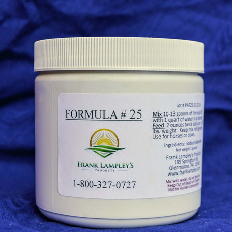 Formula 25 - Frank Lampley's  Horse & Cow Products