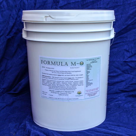 Formula M-O - Frank Lampley's Horse & Cow Products