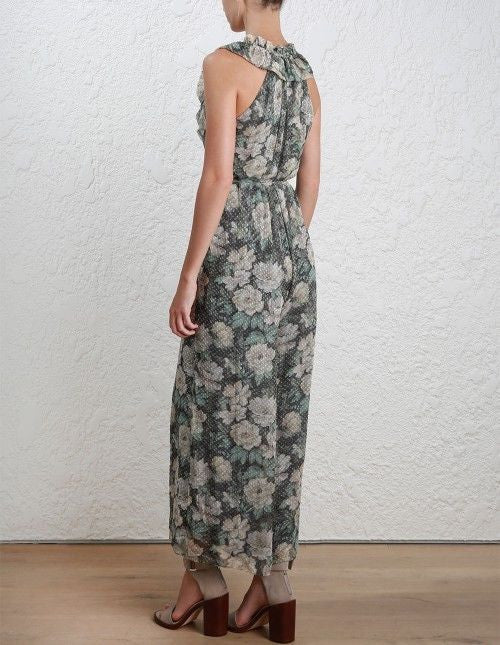 ... AUTHENTIC ZIMMERMANN BOWERBIRD DRAW FRILL JUMPSUIT ...