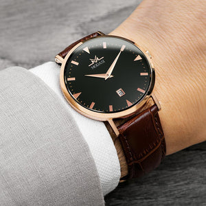 The Businessman Brown & Rose Gold