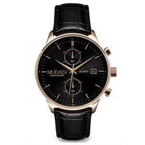 The Executive Black & Rose Gold