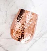 STEMLESS COPPER GLASSES
