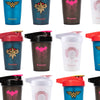 NEW! Pink Batman, Wonder Woman Princess Leia and Captain Marvel 20oz Shakers