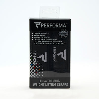PERFORMA: Padded Lifting Straps: Classic Collection