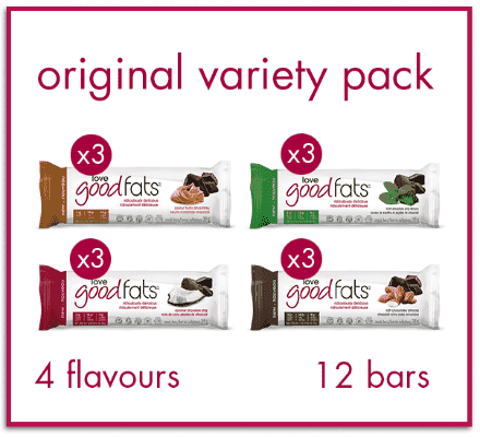 Love Good Fats Variety Pack - 12 Bars