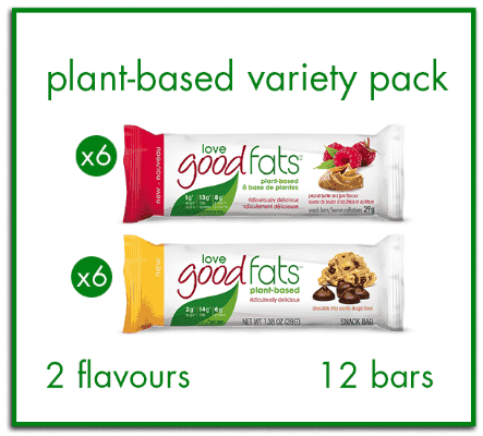 Plant-Based Variety Pack <br>- 12 Bars