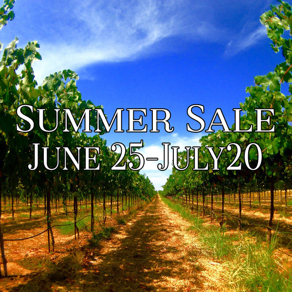 Start of Summer Sale: June 24th through July 20th