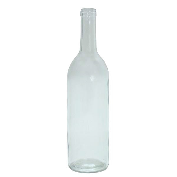 750 ml Bordeaux Bottles - Flint