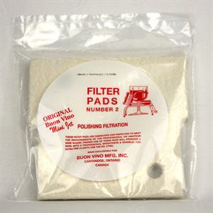 Buon Vino Mini-Jet Filter Pads 3 pack