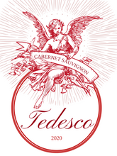 Red Angelic Custom Wine Label