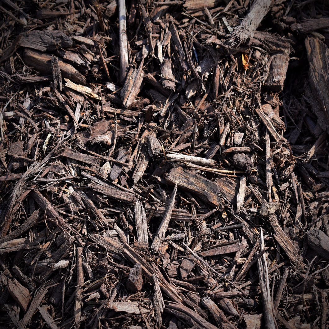 Colored Hardwood Mulch - Dark Brown