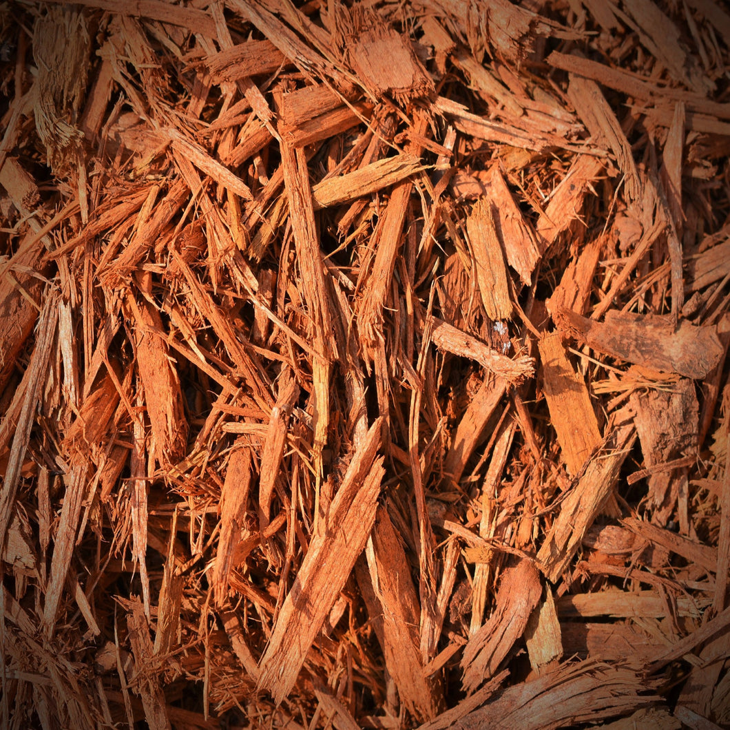 Colored Hardwood Mulch - Gold