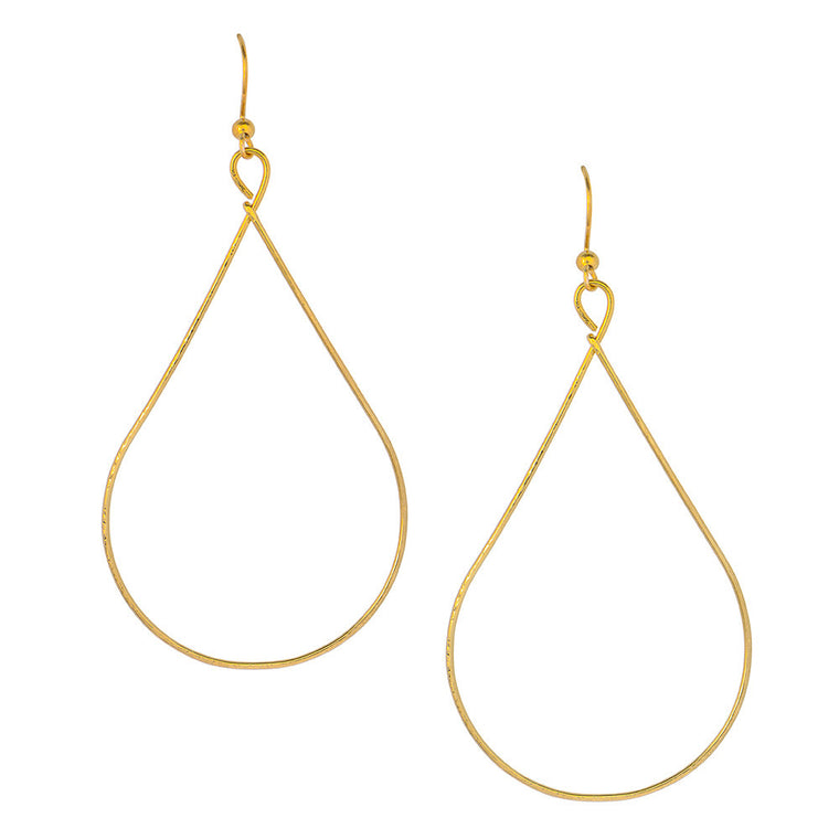 Pear Tear Drop Earrings