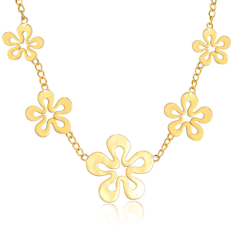 5-Piece Flower Necklace