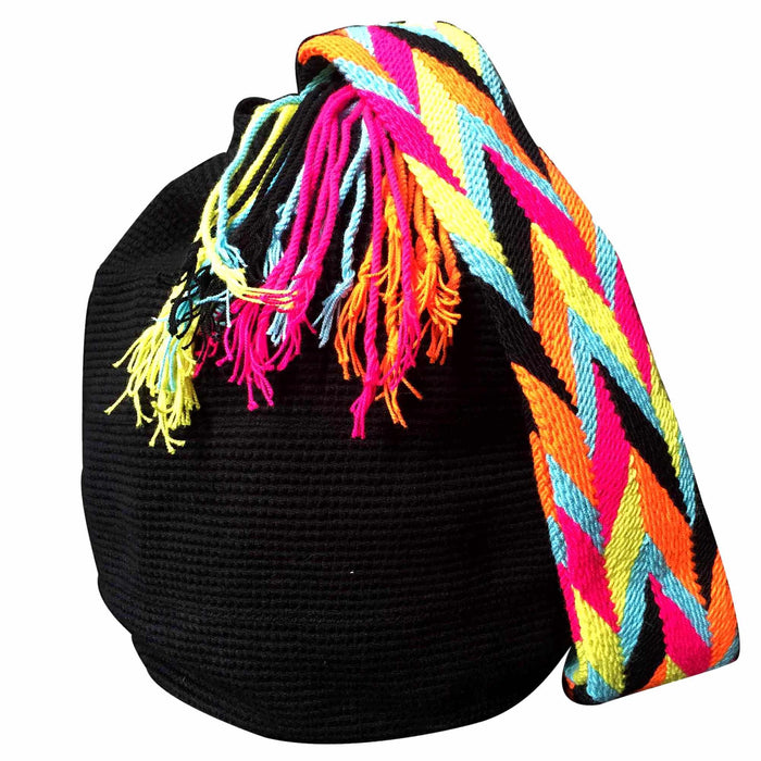 Full Moon Wayuu Mochila Bag