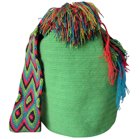Pastel Green Wayuu Bag