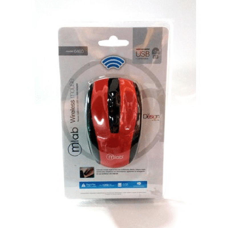Mouse Inalambrico Wireless Microlab - multistorechile.cl