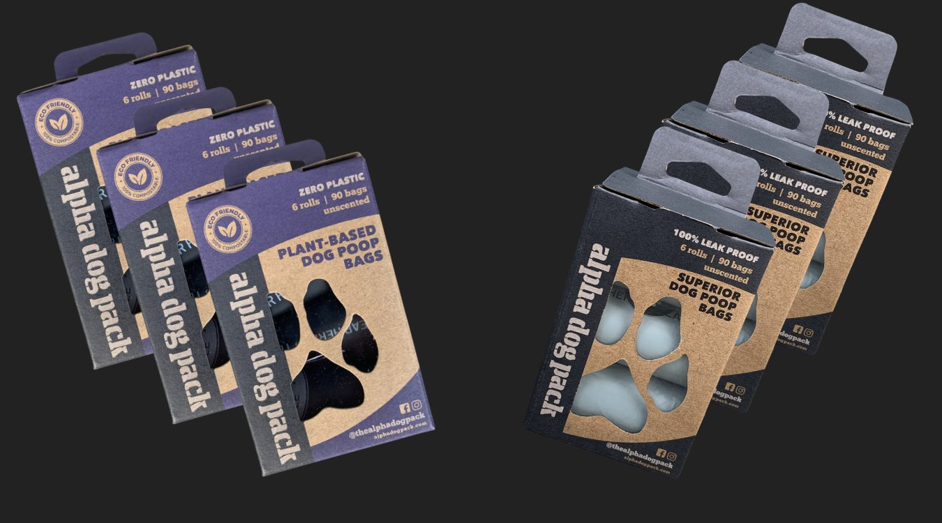 Eco-friendly dog poop bags
