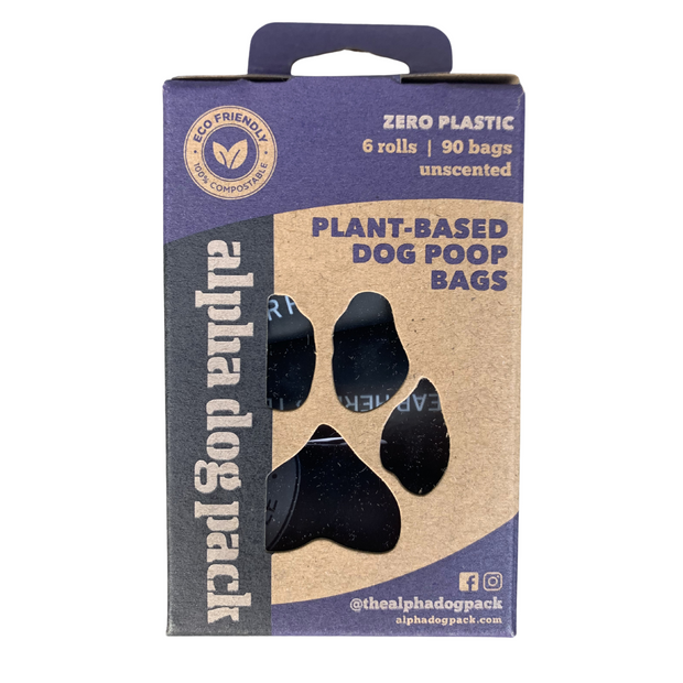 Quarantine 2020 Compostable Dog Poop Bags Starter Pack - Alpha Dog Pack