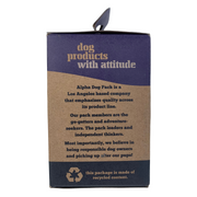 Compostable Dog Poop Bags + Dispenser - Alpha Dog Pack