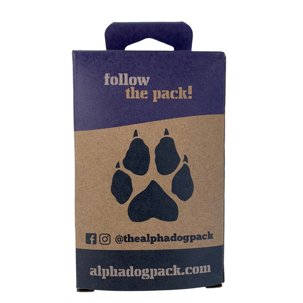 Single Order Compostable Dog Poop Bags - Alpha Dog Pack