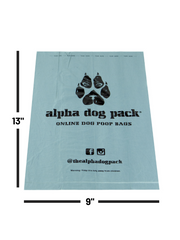 Single Order EPI Dog Poop Bags