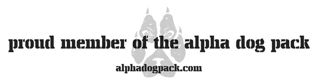 Proud Member Bumper Sticker - Alpha Dog Pack