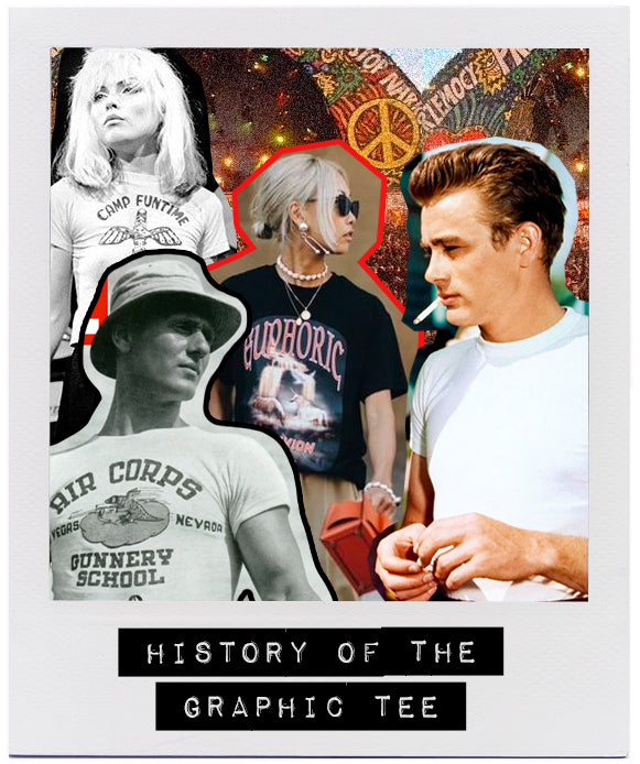 HISTORY OF THE GRAPHIC TEE