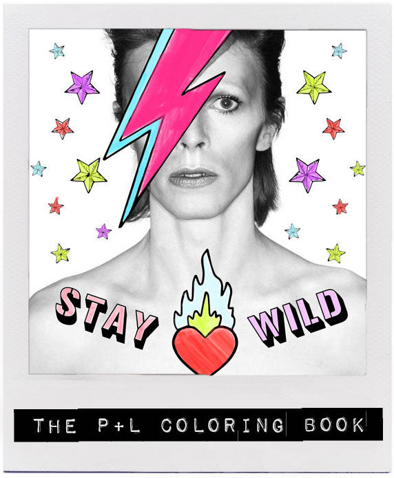 THE P+L COLORING BOOK