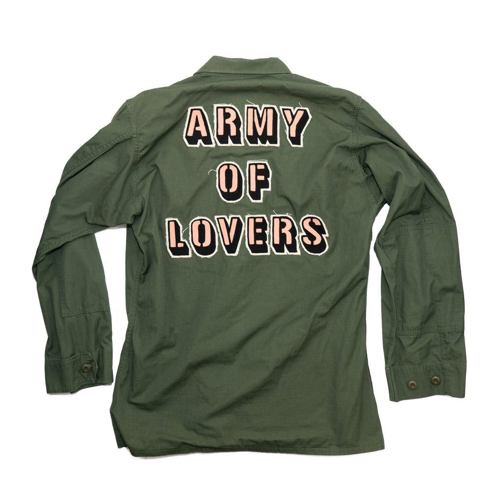 ARMY OF LOVERS no. 01 vintage jacket