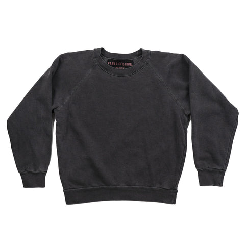 P+L CUSTOM SWEATSHIRT - vintage black
