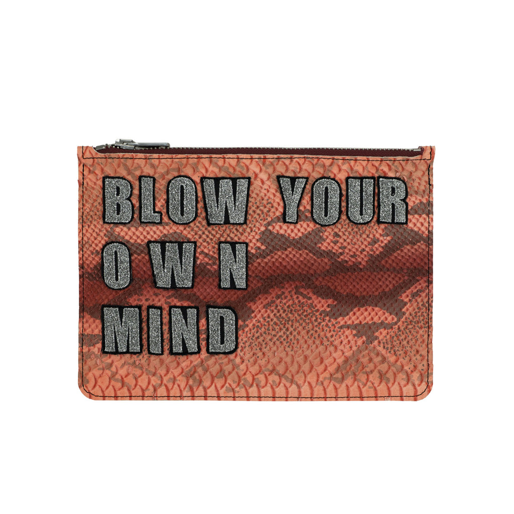 the BLOW YOUR OWN MIND no. 04 clutch