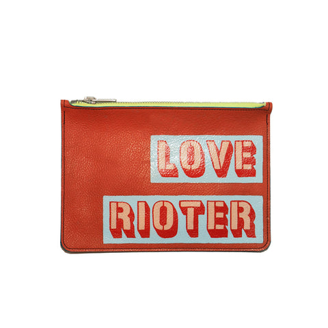 LOVE RIOTER no. 05 used paint co. clutch