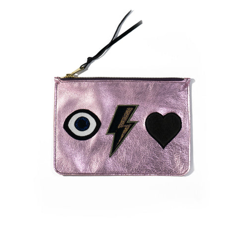 eye + bolt + heart - CLUTCH