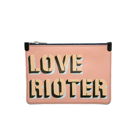 LOVE RIOTER no. 01 used paint co. clutch