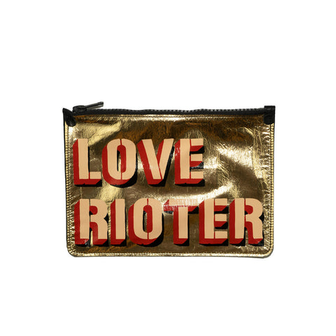 LOVE RIOTER no. 02 used paint co. clutch
