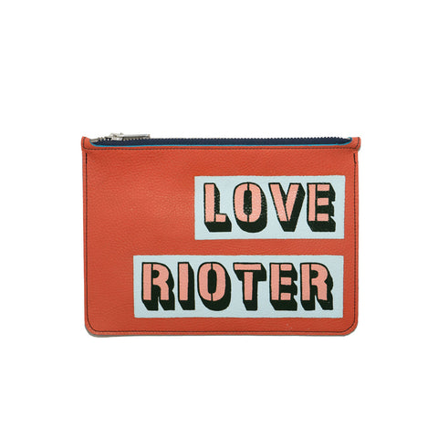 LOVE RIOTER no. 03 used paint co. clutch