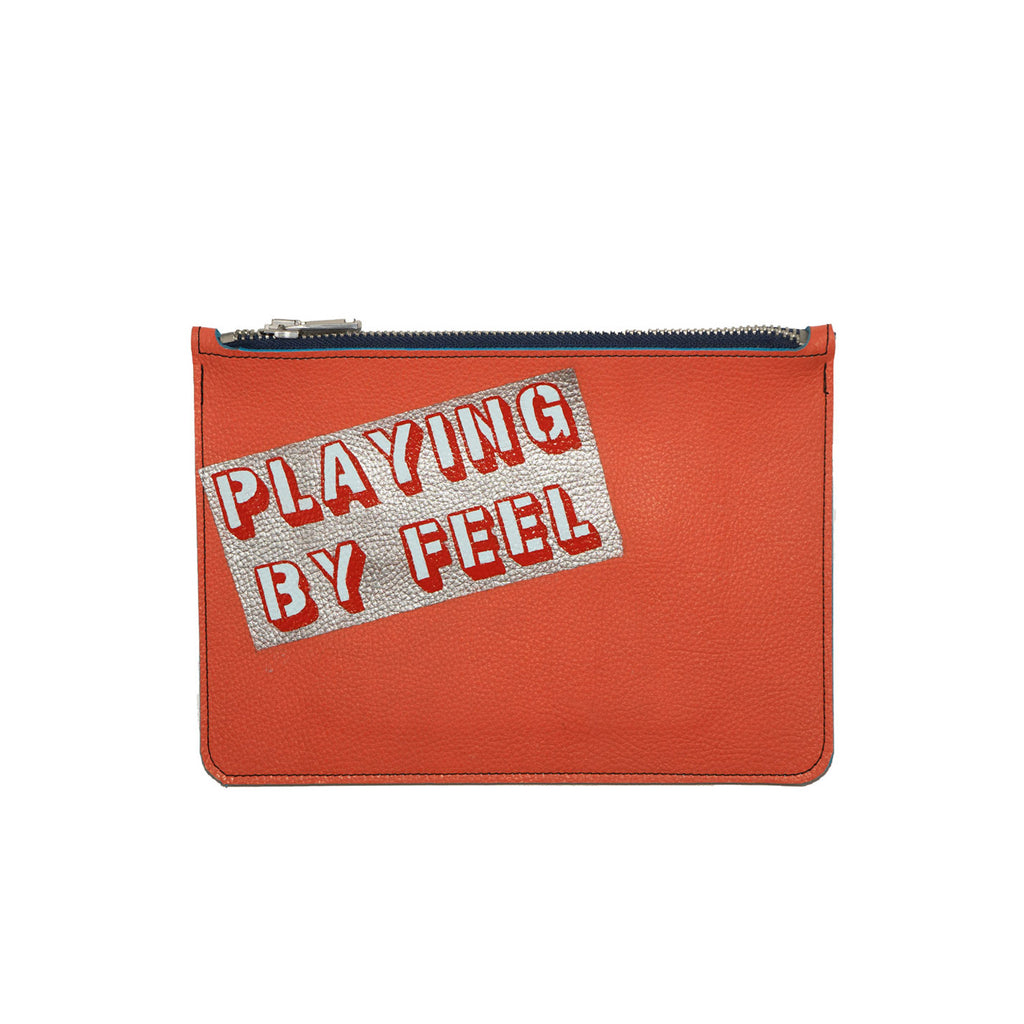 PLAYING BY FEEL no. 01 used paint co. clutch