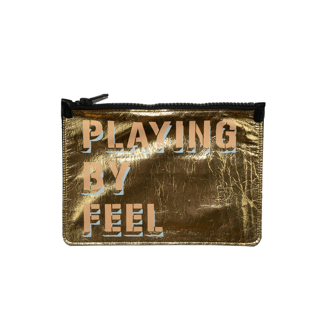 PLAYING BY FEEL no. 02 used paint co. clutch