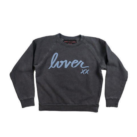 the LOVER sweatshirt