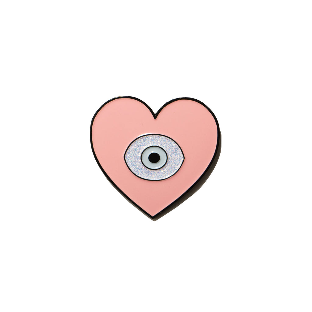 the HEART + EYE pin