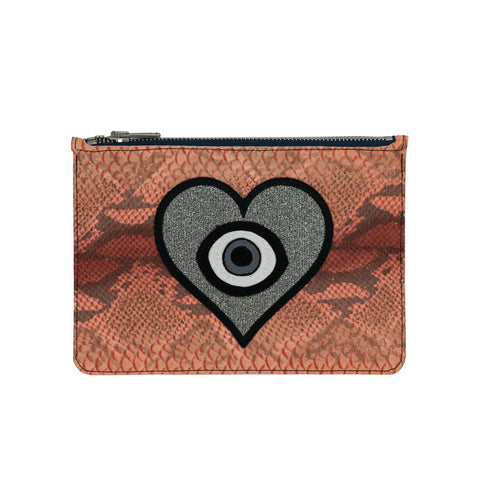 the LOVE + LUCK no.7 clutch