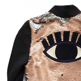 electric eye - SEQUIN BOMBER