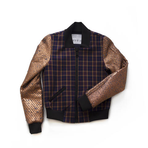le point est l'amour - PLAID BOMBER