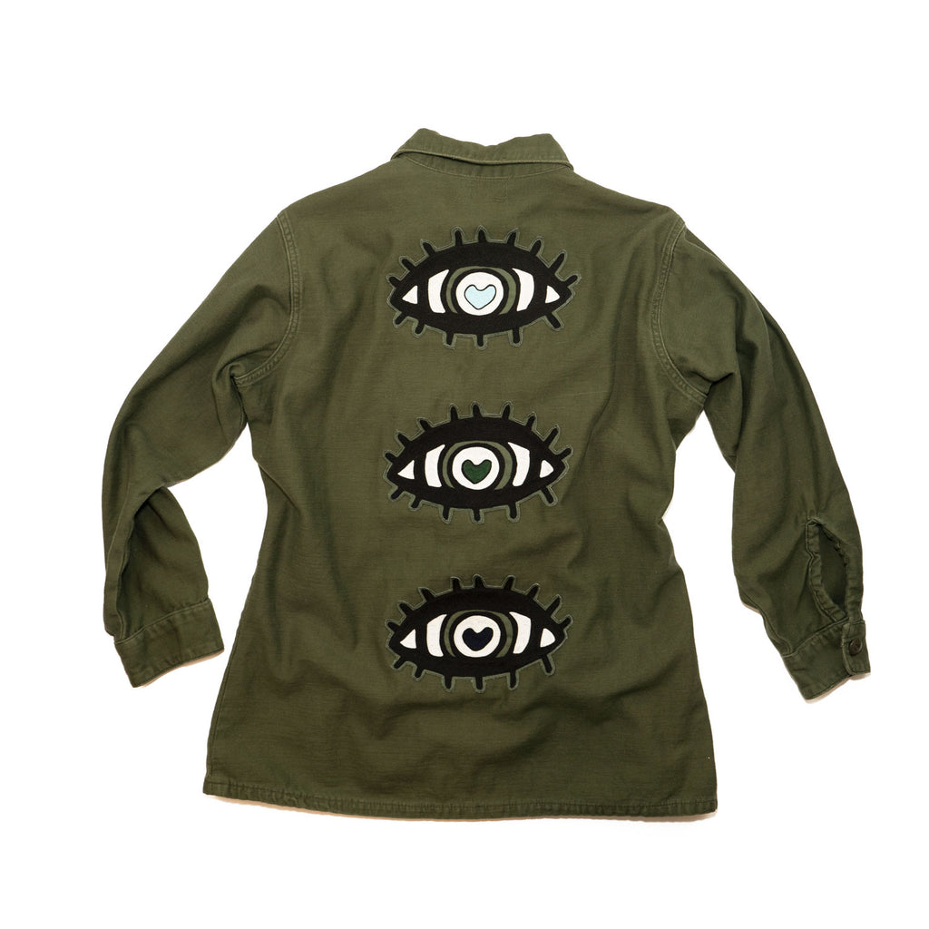 ALL EYES no. 01 vintage jacket
