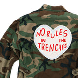 NO RULES IN THE TRENCHES no. 01 vintage jacket