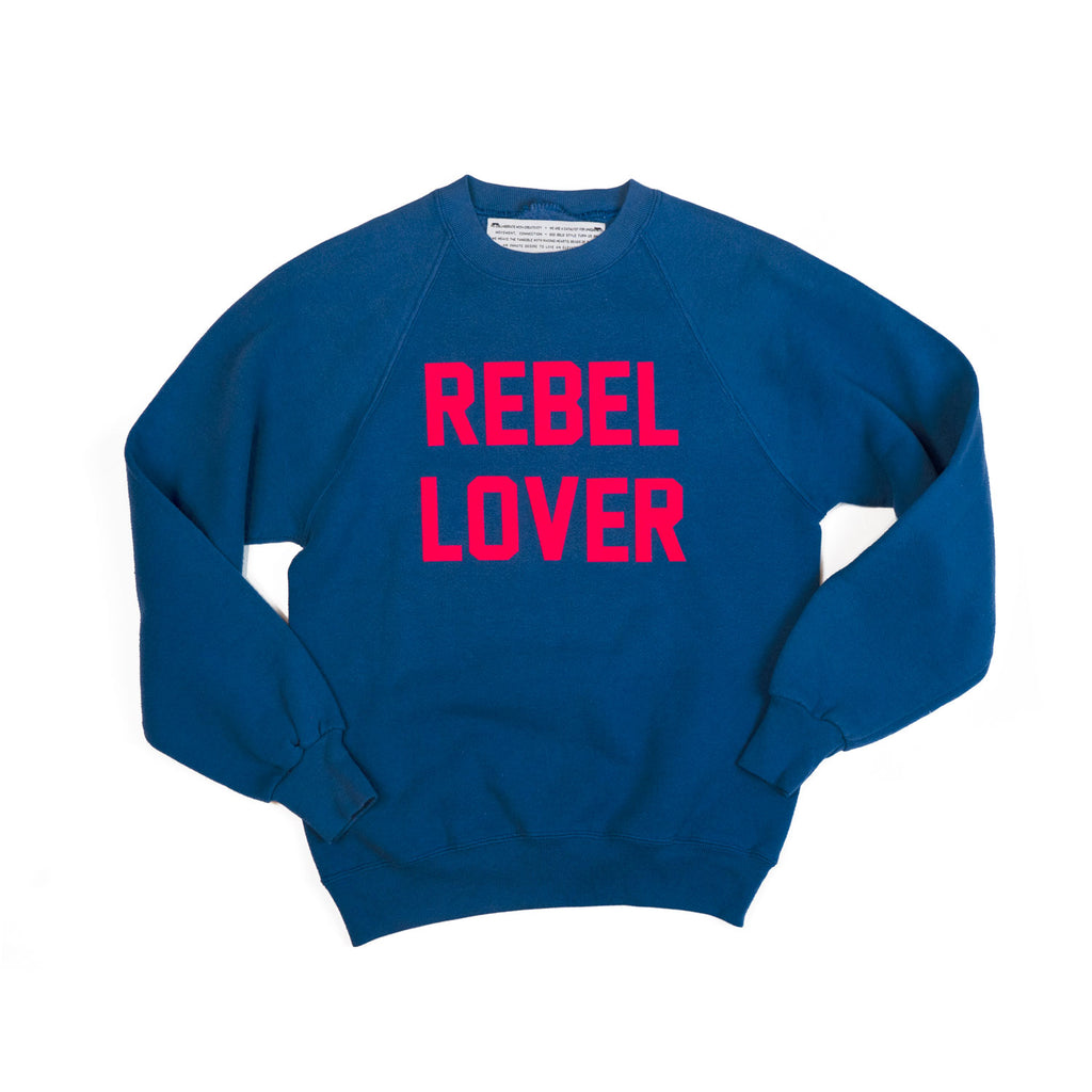 vintage sweatshirt - REBEL LOVER