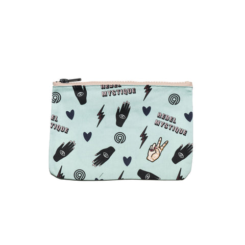 the REBEL mystique - denim clutch