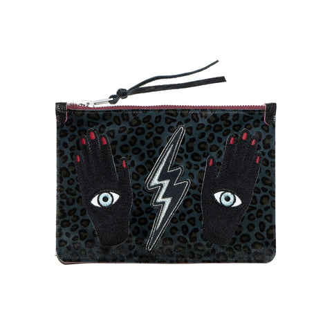 the rebel mystique - leather clutch no.2