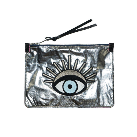 the rebel mystique - leather clutch no.1